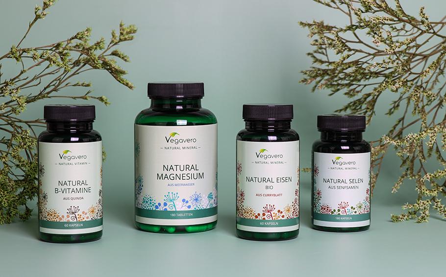 Nuestra nueva línea de productos: ¡vitaminas y minerales de la naturaleza!