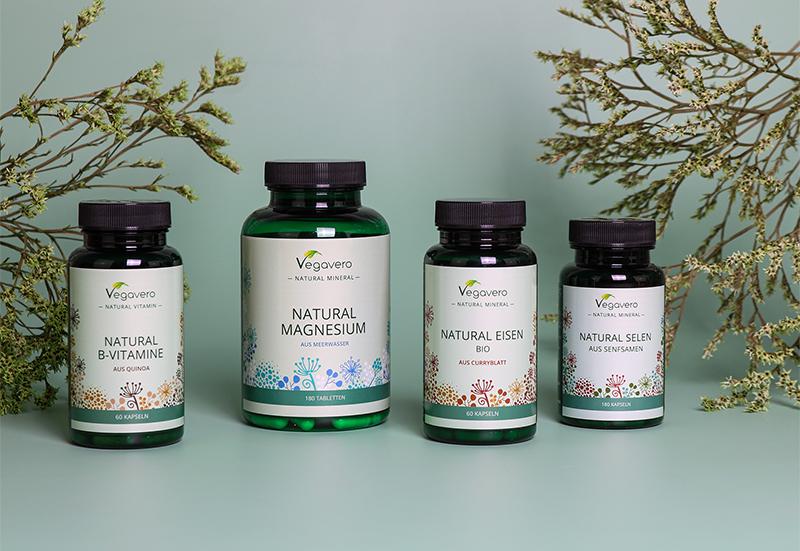 La nostra nuova linea Vegavero Natural: vitamine e minerali direttamente dalla natura!